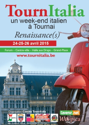 Tournitalia Un Week End Italien A Tournai Renaissance S